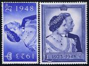 001O GREAT BRITAIN 1948, UM SG493-4