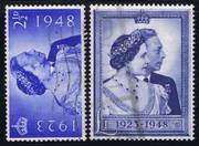 004O GREAT BRITAIN 1948, SG493-4