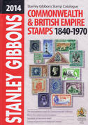 SG 2014 COMMONWEALTH  BRITISH EMPIRE STAMPS 1870-1970